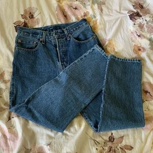 Levi's Made & Crafted 501 Crops